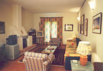 Farmhouse Fiori Tuscany - Livingroom