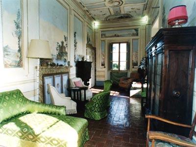 Villa San Castella Italy - Livingroom