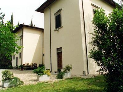 Villa San Castella Italy - Exterior View