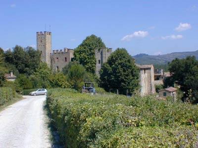 Bishop's Tower Castelnuovo Berardenga - View