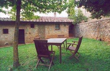 Tuscany Castle Apartment - Outside Sitting