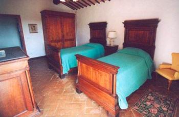 Apartment Castello Caldana Tuscany - Twin room