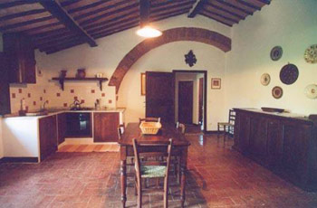Apartment Castello Caldana Tuscany - Kitchen