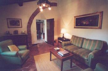 Apartment Castello Caldana Tuscany - Living room