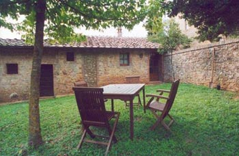 Castello Caldana Cottage Tuscany - Outside Sitting