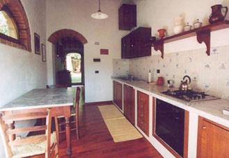 Castello Caldana Cottage Tuscany - Kitchen