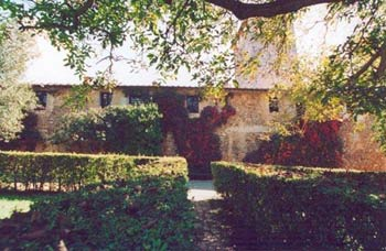 Castello Caldana Cottage Tuscany - Ext View