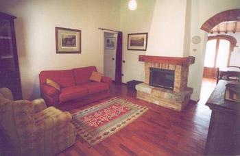 Castello Caldana Cottage Tuscany - Living Room