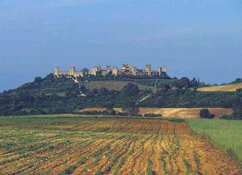 Castello Caldana Cottage Tuscany - View