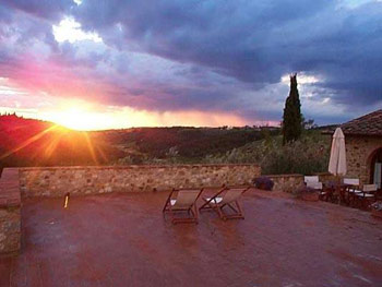 Apartment Old House Chianti, Tuscany - Terrace