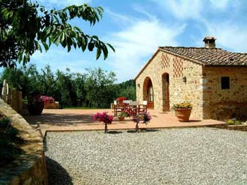 Chianti farmhouse apartment