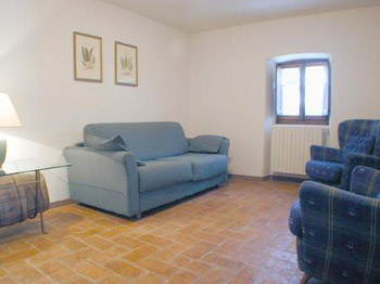 Apartment Low House San Casciano - Living Room