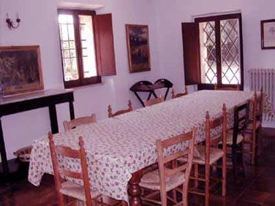 Villa Castagna Arezzo Tuscany - Diningroom