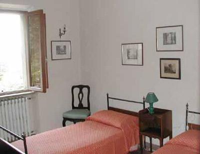 Villa Castagna Arezzo Tuscany  - Twin_Bedroom