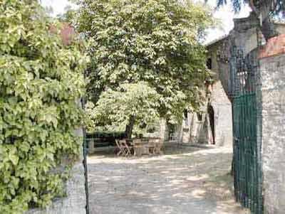 Villa Castagna Arezzo Tuscany - Entrance