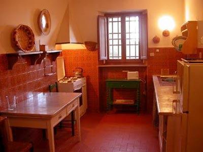 Villa Castagna Arezzo Tuscany - Kitchen