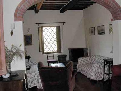Villa Castagna Arezzo Tuscany - Livingroom