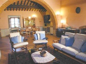 Apartment Podere Orcia Pienza - Hall