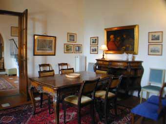 Villa Azalea Florence, Italy - Diningroom