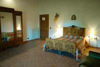 Villa Certaldo 1 Florence - Bedroom