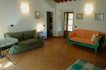Villa Certaldo 1 Florence - Livingroom