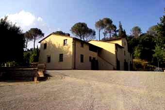 Holiday rental villa in Chianti, Tuscany