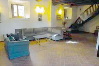 Villa Certaldo 2 Chianti - Livingroom