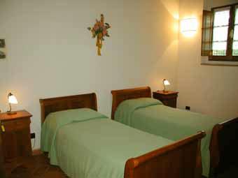 Villa Certaldo 2 Chianti - Twin Bedroom