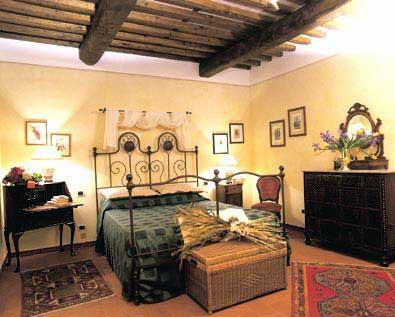 Villa Casa Paradiso Tuscany - Bedroom