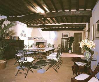 Villa Casa Paradiso Tuscany - Dininghall