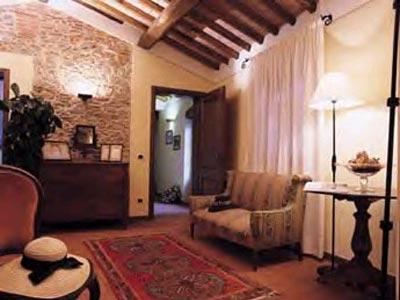 Villa Casa Paradiso Tuscany - Livingroom