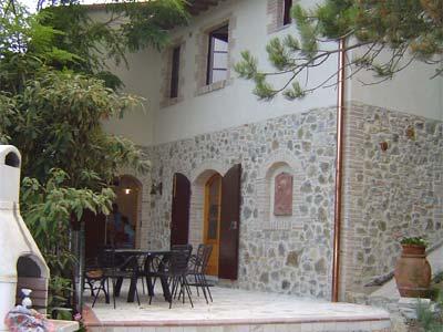 Farmhouse Acaciana Chianti San Gimignano - Pergola