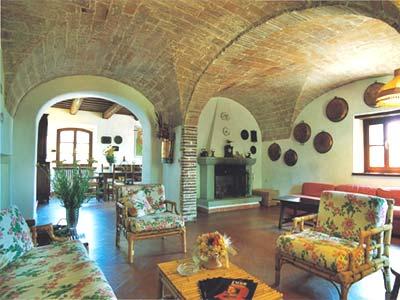 Farmhouse Lilliam San Gimignano - livingroom
