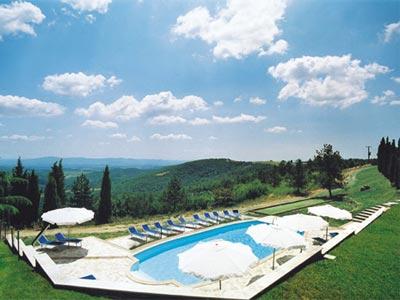 Farmhouse Lilliam San Gimignano - swimingpool