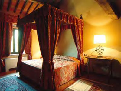 Tuscany luxury holiday villa - Bedroom