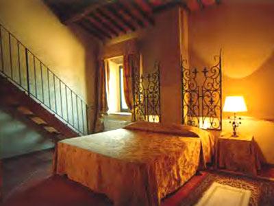 Villa Monte 3 Siena, Tuscany - bedroom