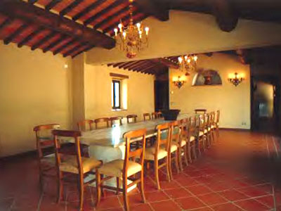 Villa Monte 3 Siena, Tuscany - dininghall