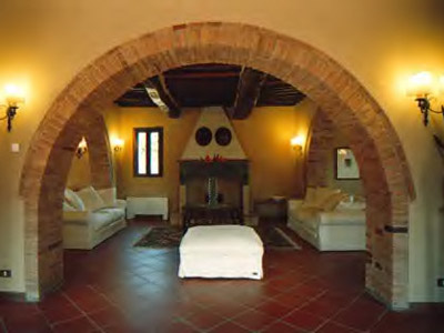 Villa Monte 3 Siena, Tuscany - livingroom