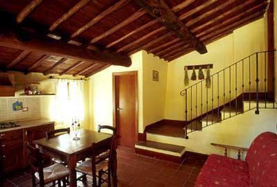 Apartment Monteriggioni 8 - kitchen