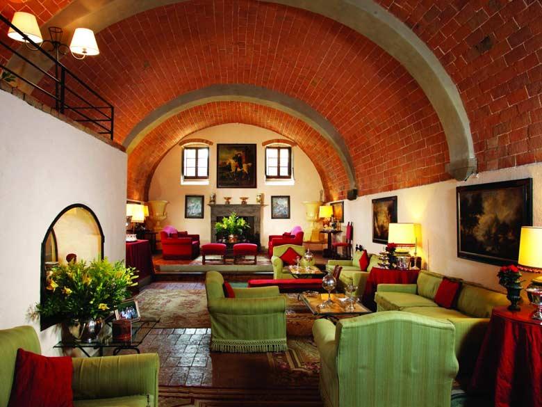 Villa Val d`Elsa_Living room