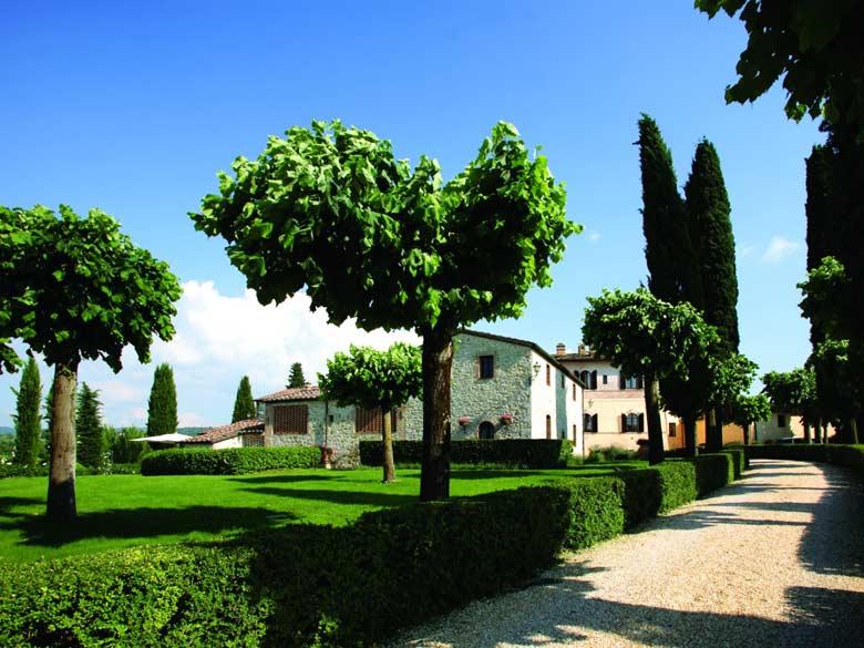 Villa Val d`Elsa_villa gate