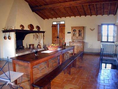 Farmhouse Podere Pienza Tuscany  - Kitchen