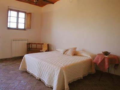 Farmhouse Podere Pienza Tuscany  - Bedroom