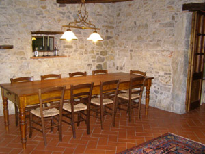 Casanova di Ama - Dinning room