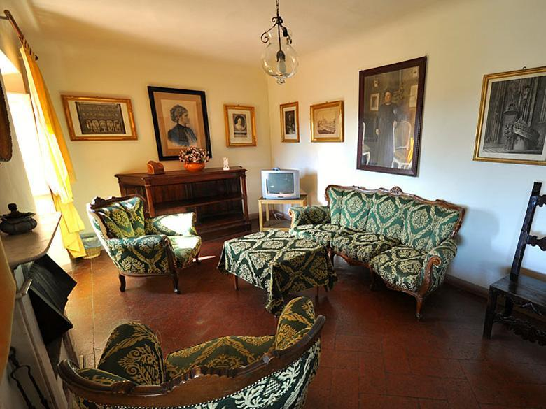 Living Room of the Apartment in Fiesole, Florence
