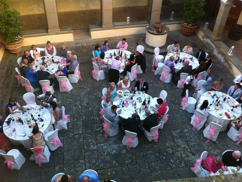 Wedding Celebration in the Estate