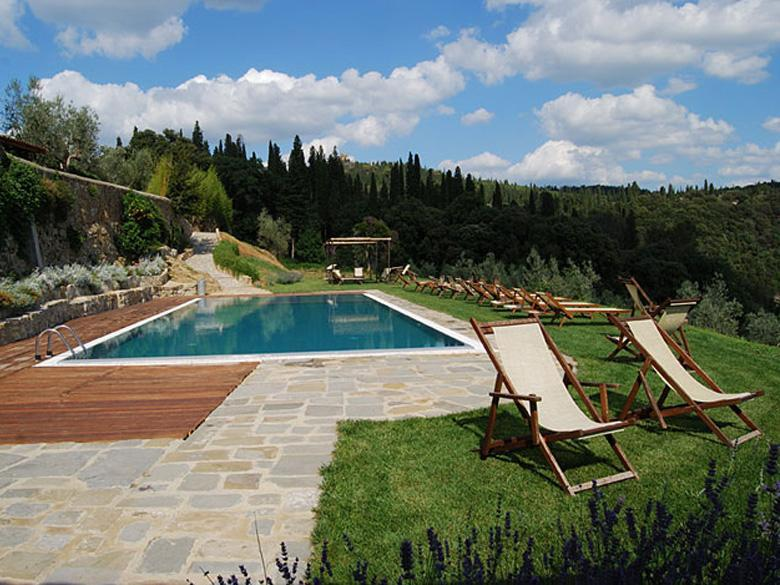 Swimming Pool in the Estate