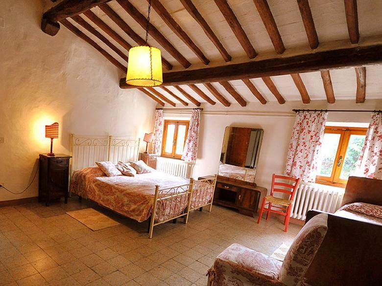 Bedroom of the Fiesole Apartment