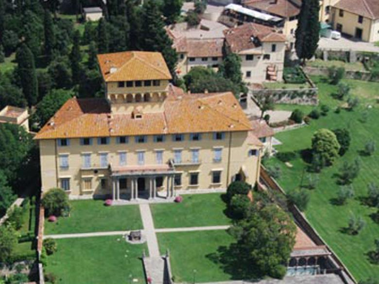 The Estate Aerial View
